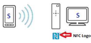 NFC wireless connection